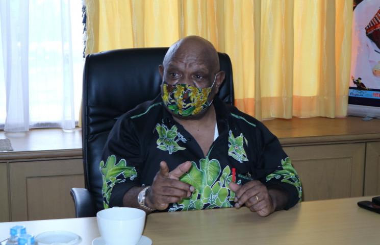Wagub Klemen Minta SKPD Terkait Bantu Tangani Banjir Keerom